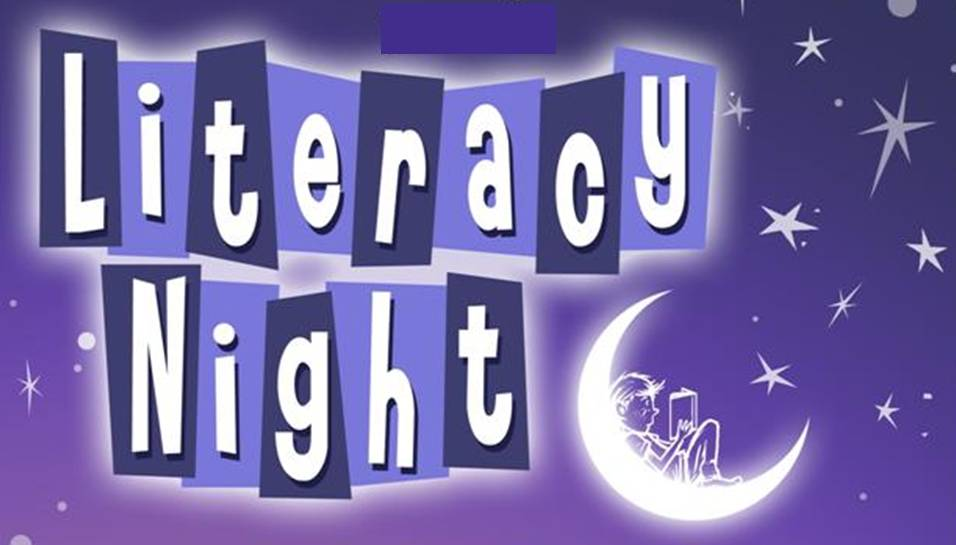 Image result for literacy night clip art